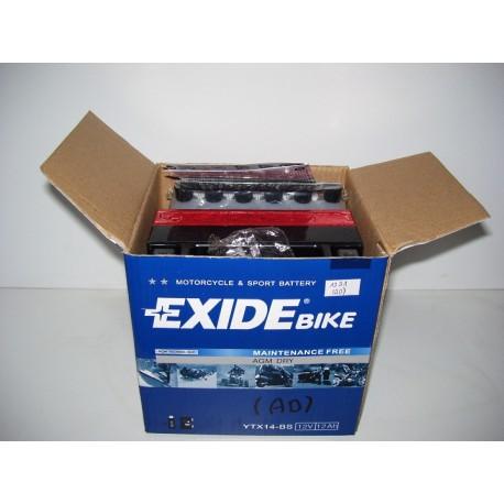 Akumulator motocyklowy Exide YTX14-BS