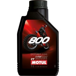 Olej silnikowy syntetyczny 2T MOTUL 800 OFF ROAD 1L