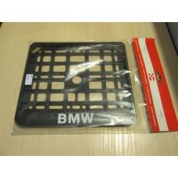 Ramka tablicy rejestracyjnej CZARNA logo BMW