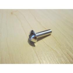 Śruba do mocowania owiewek aluminiowa srebrna 5x20