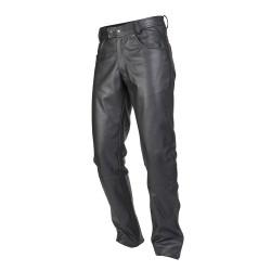 Spodnie skórzane OZONE DAFT Black