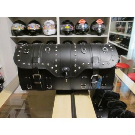 Kufer skórzany z zamkiem ćwieki Sako K16B 55L