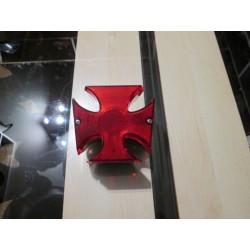Lampa tylna Krzyż Maltański chromowana metalowa