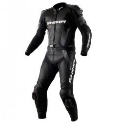 Spodnie skórzane SHIMA STR BLACK