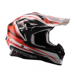 Kask crossowy NAXA C9 Red