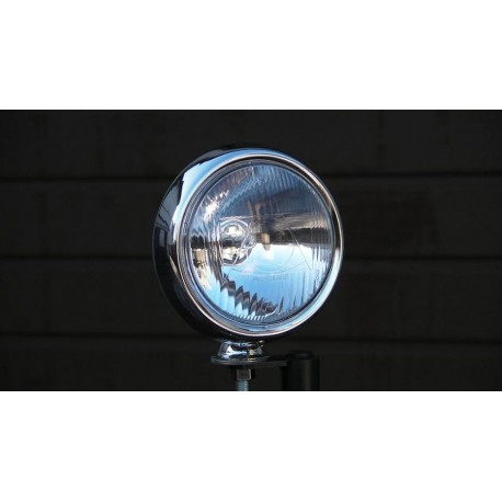 Lampa chrom metal lightbar H3 55W śr. 12 cm
