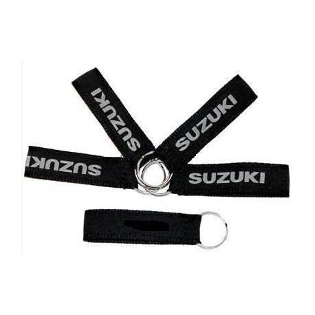 Zawieszka do kluczy Suzuki czarna