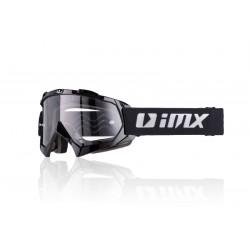 Gogle motocyklowe offroad IMX MUD czarne