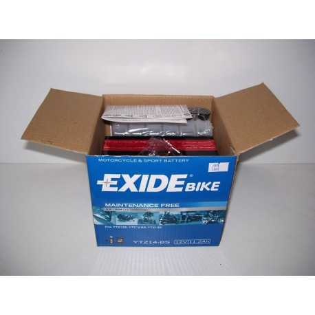 Akumulator motocyklowy EXIDE YTZ14-BS