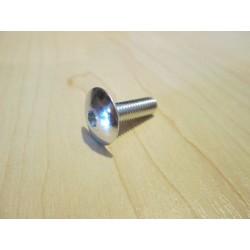 Śruba do mocowania owiewek aluminiowa srebrna 6x20