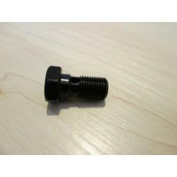 Śruba przewodu hamulcowego 1 otwór M10X1.00 czarna