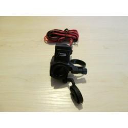 Gniazdo zapalniczki zwykłe + USB