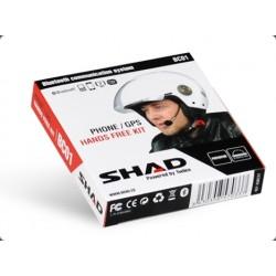 Zestaw słuchawkowy Intercom bluetooth SHAD BC01