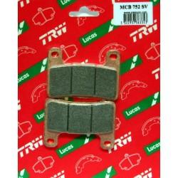 Klocki hamulcowe TRW MCB752SV (FA379)