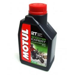 Olej silnikowy Motul SCOOTER EXPERT 2T SEMI 1 L