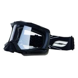 Gogle motocyklowe offroad OZONE DUST MX czarne matt