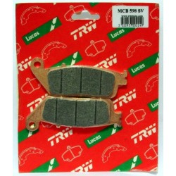 Klocki hamulcowe TRW MCB598SV (FA142)