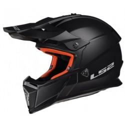 Kask LS2 MX437 FAST BLACK MATT