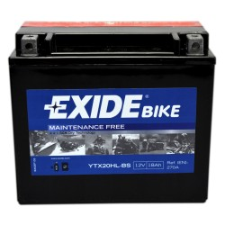 Akumulator motocyklowy EXIDE YTX20HL-BS