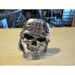Naklejka 3D Czacha Hełm
