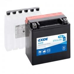 Akumulator motocyklowy EXIDE YTX16-BS