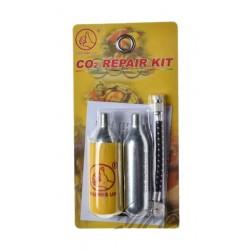 Nabój CO2 do awaryjnego pompowania opon 2x16 g (WM)