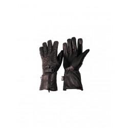 Rękawice długie skórzane L&J R001 Black