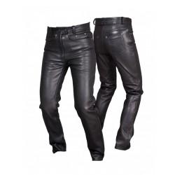 Spodnie skórzane damskie L&J SSD003 Black