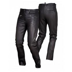 Spodnie skórzane damskie L&J SSD011 Black