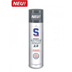 Smar do łańcucha S100 WEISSES KETTEN SPRAY 400 ml