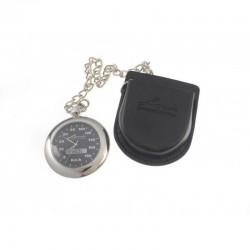 Zegarek analogowy z łańcuszkiem