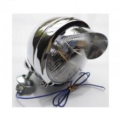 Lampa chrom metal lightbar daszek H3 55W śr. 4,5 cala