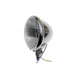 Lampa chrom metal lightbar prążki H3 55W